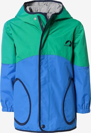 FINKID Regenjacke 'Aarke' in blau / grün, Produktansicht