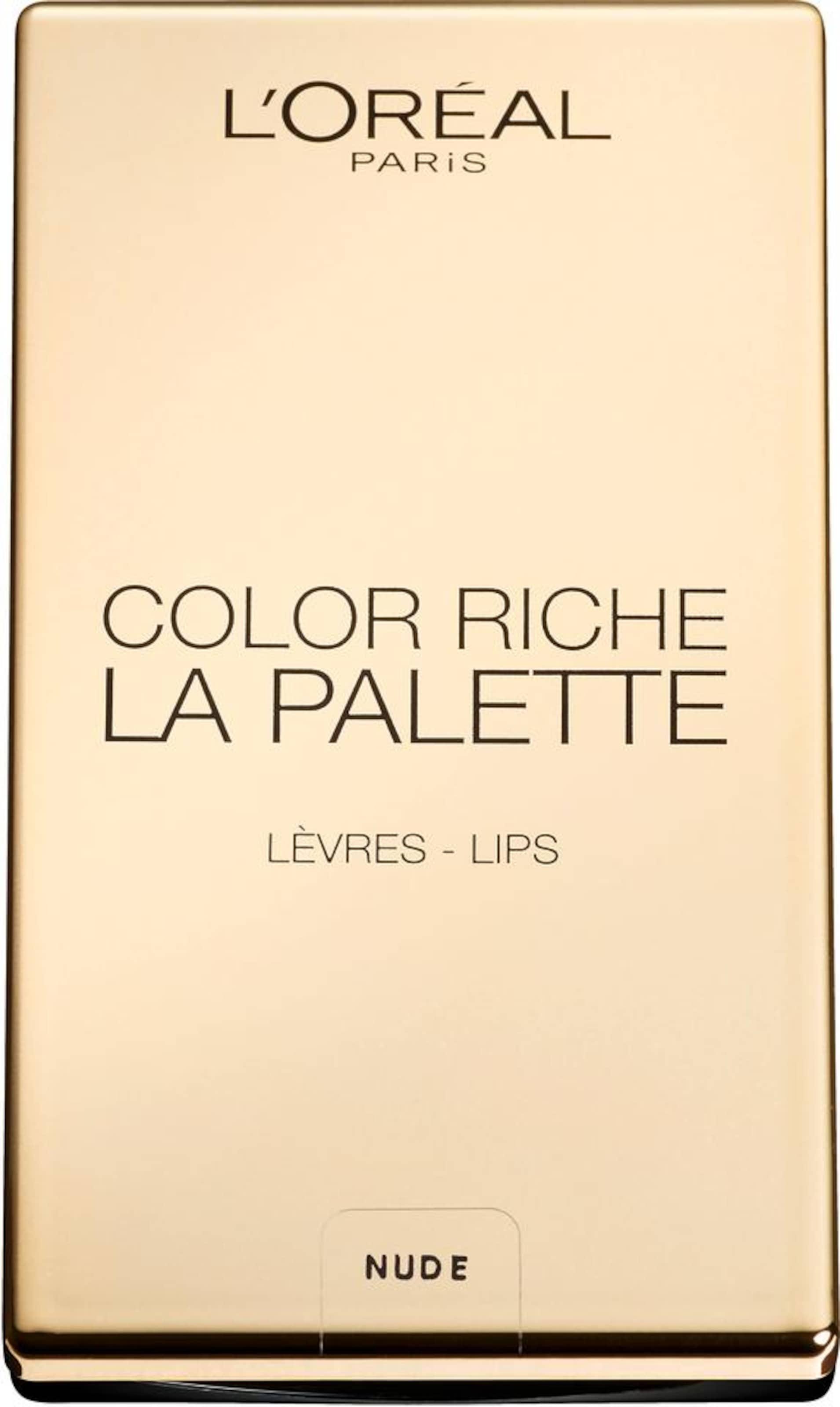 L'Oréal Paris 'Color Riche La Palette Lip', Lippenstift