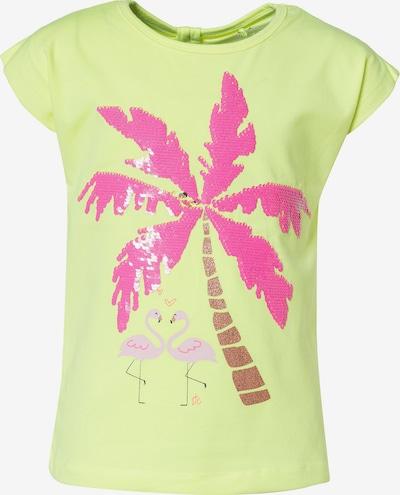 STACCATO T-Shirt in gelb / mischfarben, Produktansicht