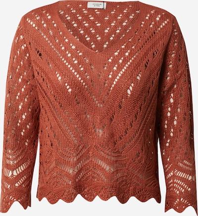 JACQUELINE de YONG Pullover 'New Sun' in orangerot, Produktansicht