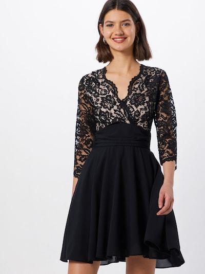 TFNC Kleid 'YULIA' in nude / schwarz, Modelansicht
