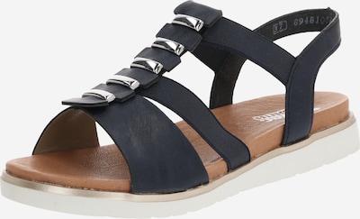 Sandale cu baretă RIEKER pe albastru noapte, Vizualizare produs