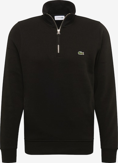LACOSTE Sweat-shirt en noir: Vue de face