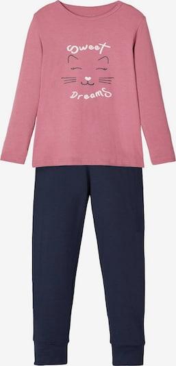 Pijamale NAME IT pe navy / roz vechi / alb, Vizualizare produs