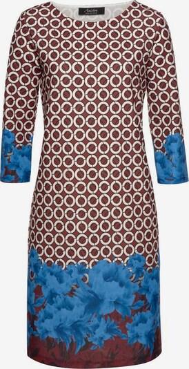Aniston SELECTED Kleid in saphir / puder / bordeaux, Produktansicht