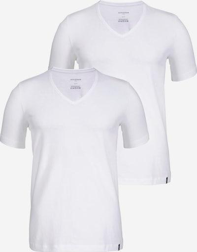 SCHIESSER T-Shirt in weiß, Produktansicht