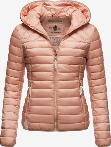 NAVAHOO Between-Season Jacket 'Ich Bin Hübsch' in Pink