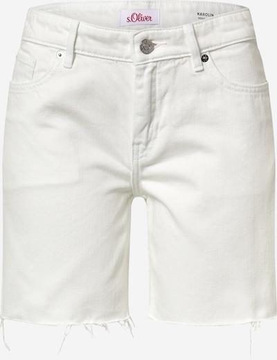 s.Oliver Jeanshorts in weiß, Produktansicht