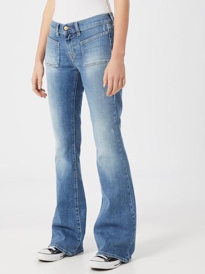 DIESEL Jeansy 'D-Ebbey-X' w kolorze niebieski denimm, Podgląd na modelu(-ce)