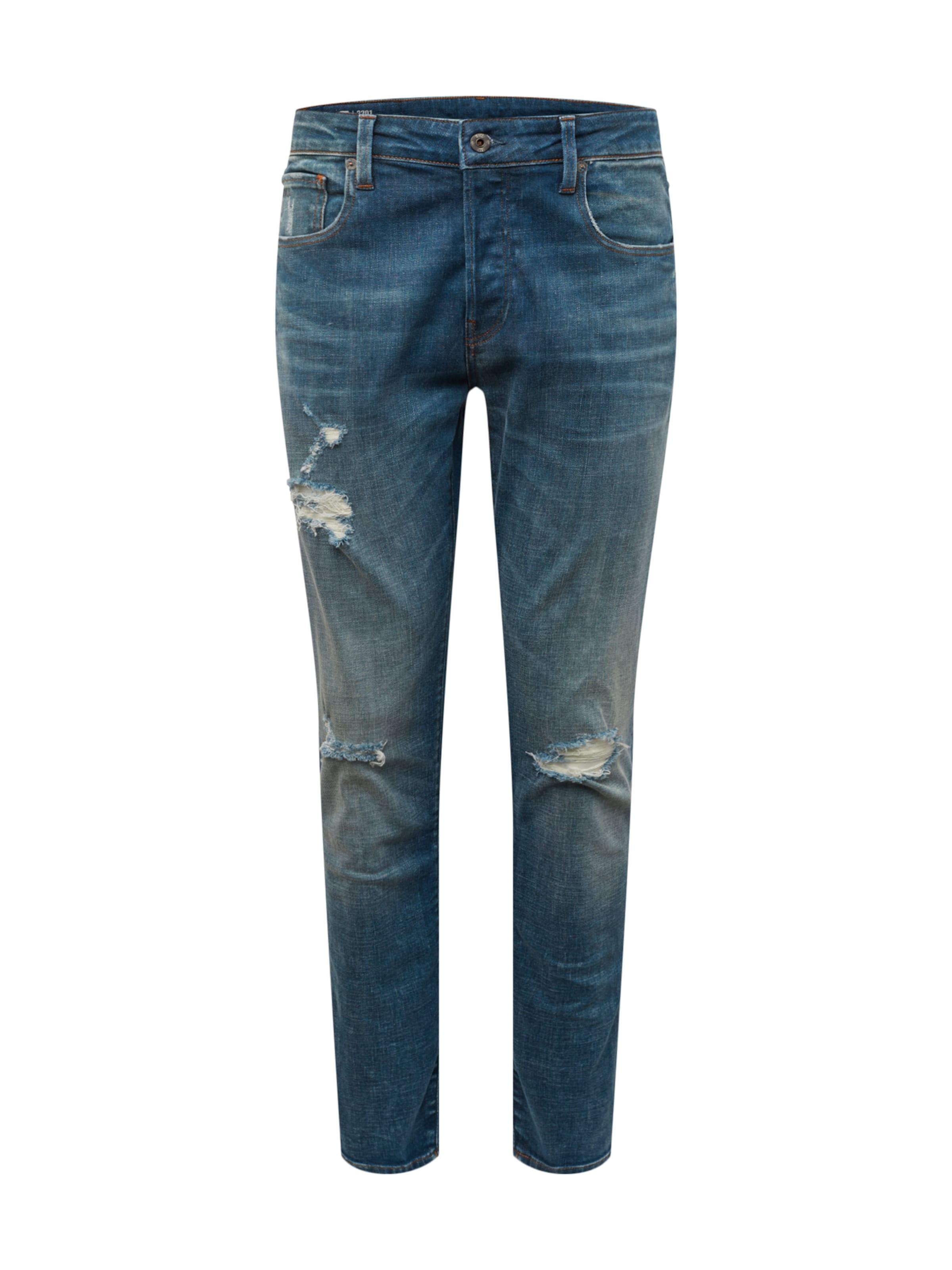 star Denim Slim' In Bleu G RawJean '3301 by7gf6Yv