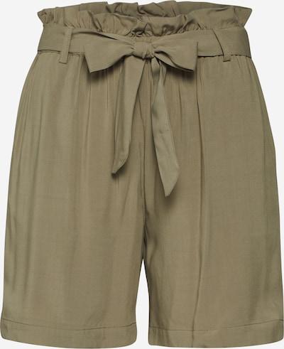 Klostuotos kelnės 'Calla' iš modström , spalva - rusvai žalia, Prekių apžvalga