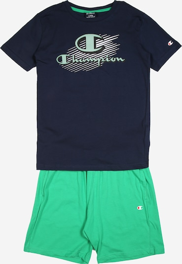 Champion Authentic Athletic Apparel Set in blau, Produktansicht