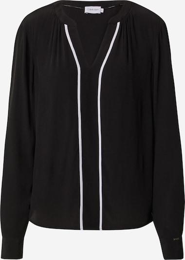 Calvin Klein Blūze melns / balts, Preces skats