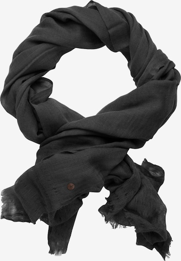 Jacques Britt Schal ' Custom Fit ' in grau: Frontalansicht