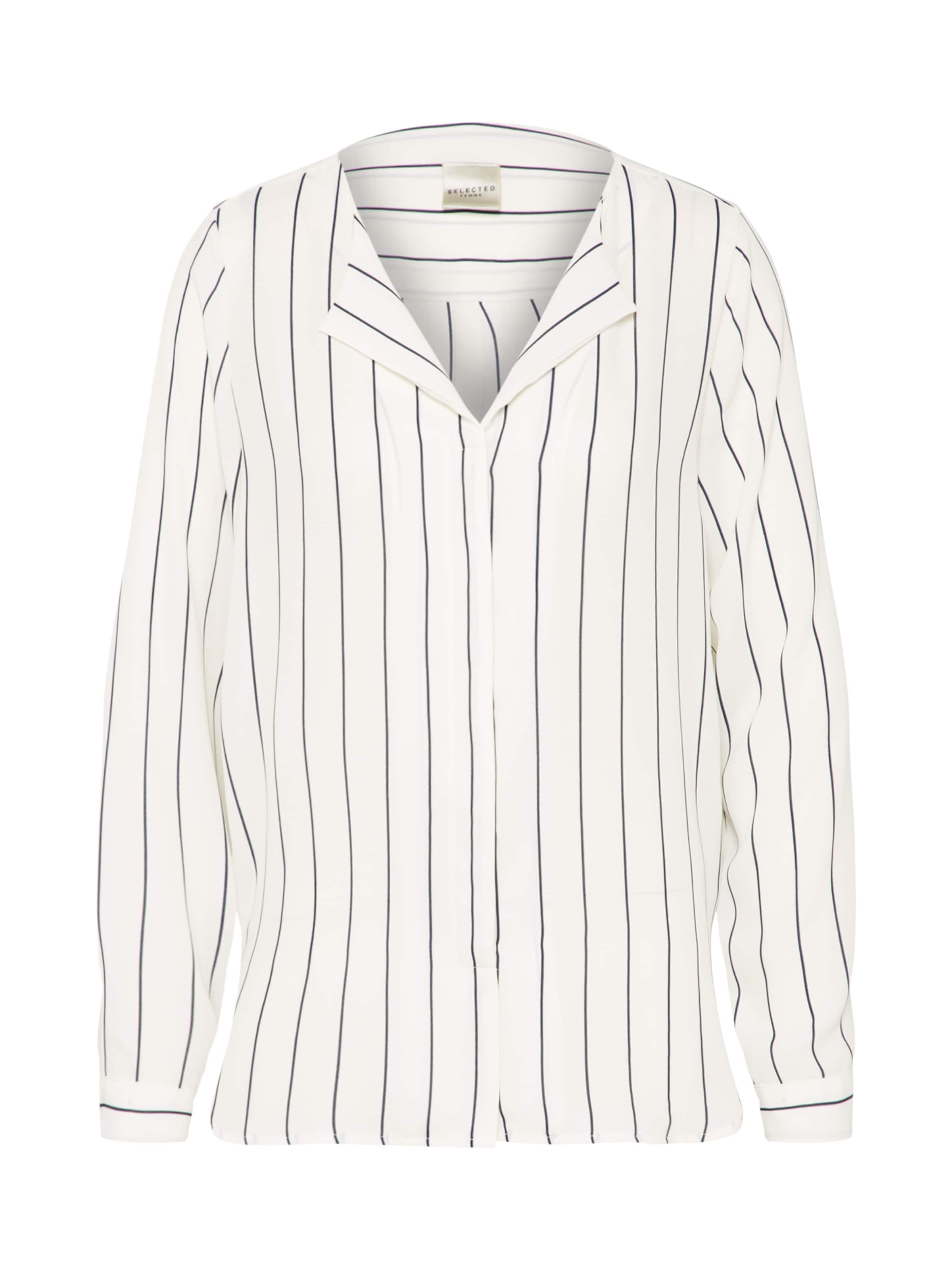 Shirt SFDYNELLA STRIPE nachtblau / offwhite Selected IOwYNeT
