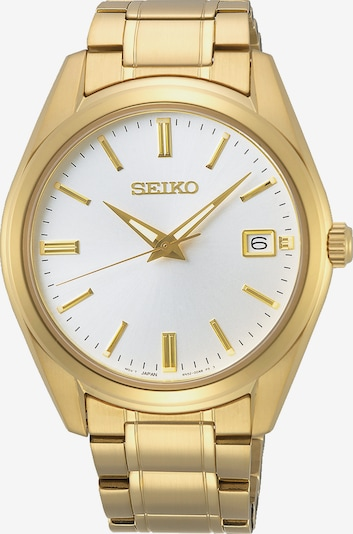 SEIKO Uhr in gold, Produktansicht