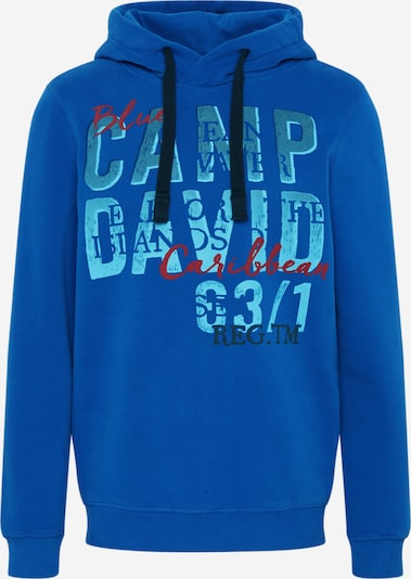 CAMP DAVID Sweatshirt in blau, Produktansicht