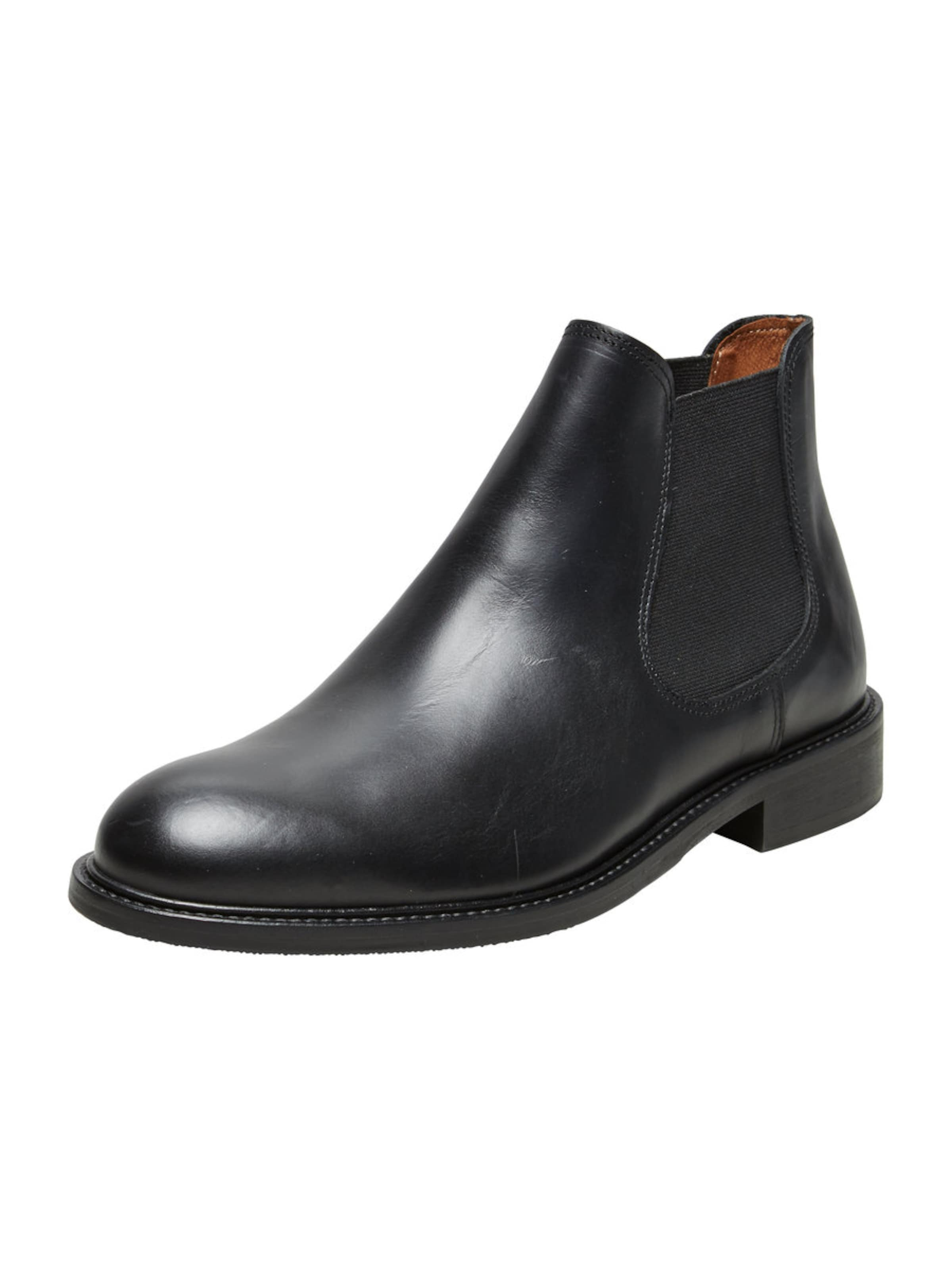 SELECTED HOMME Chelsea Lederstiefel Verschleißfeste billige Schuhe