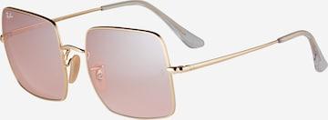 Ray-Ban - Gafas de sol 'SQUARE' en oro