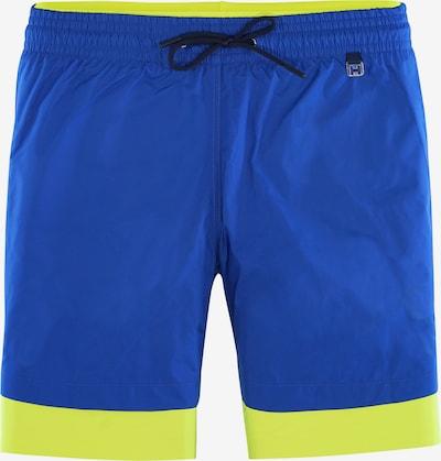 """HOM Shorts de bain ' """"Ocean"""" ' en bleu, Vue avec produit"""