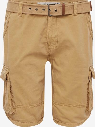 INDICODE JEANS Shorts 'Monroe' in sand, Produktansicht