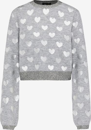 MYMO Pullover in silbergrau / graumeliert / silber, Produktansicht