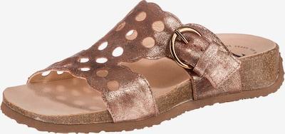 THINK! Pantoletten 'Mizzi' in bronze, Produktansicht