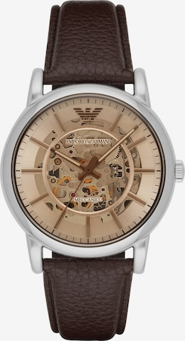 Emporio Armani Analog Watch in Brown
