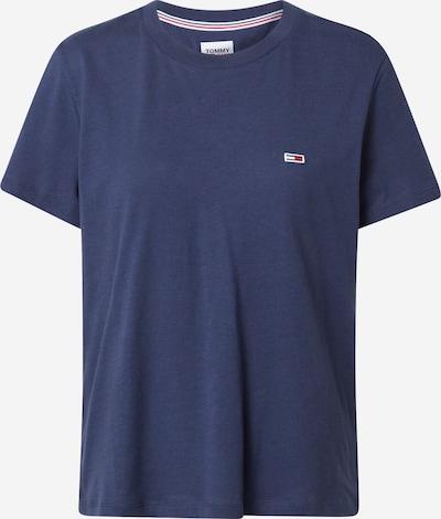 Tommy Jeans T-Shirt in navy / feuerrot / weiß, Produktansicht