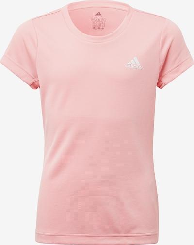 ADIDAS PERFORMANCE Shirt in rosa / weiß, Produktansicht