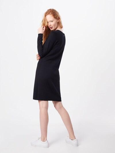EDC BY ESPRIT Kleid in schwarz: Rückansicht