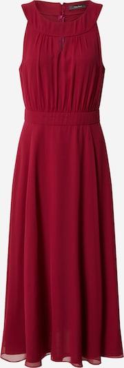 Vera Mont Robe en rouge rubis, Vue avec produit