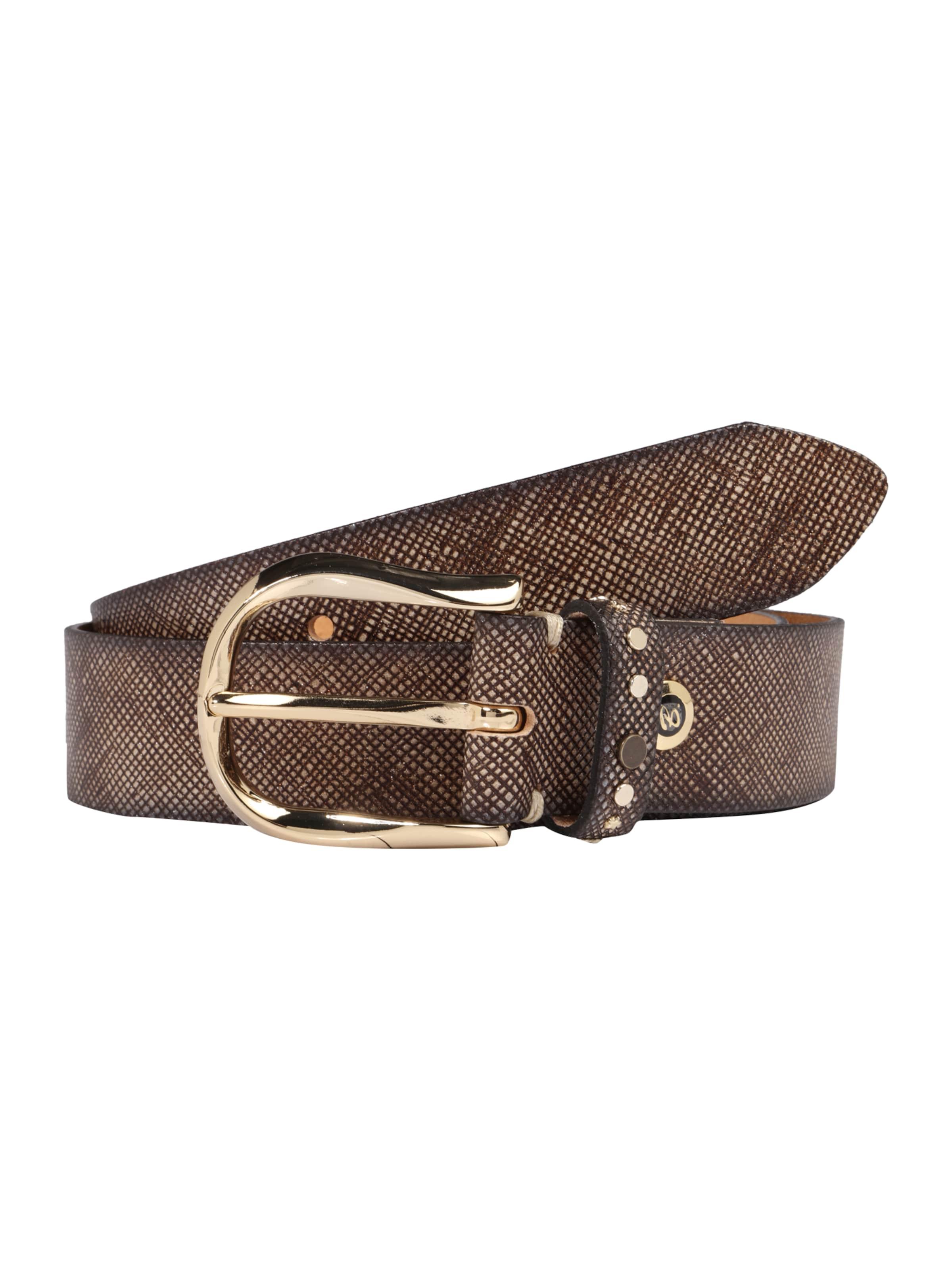 Billig Verkauf Angebote Verkaufsauftrag b.belt Handmade in Germany Ledergürtel mit Saffiano-Prägung EpnLi8e