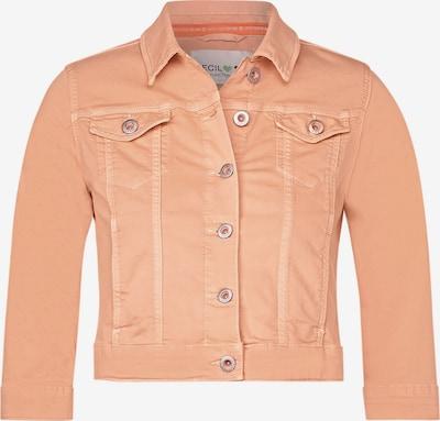 CECIL Denimjacke im Colour Style in orange, Produktansicht