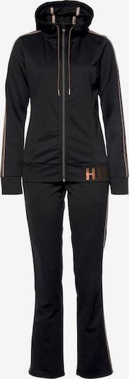 H.I.S Jogginganzug in schwarz, Produktansicht