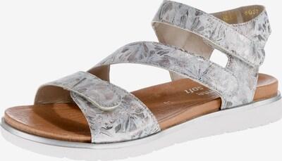 REMONTE Sandale in rauchgrau / silber, Produktansicht