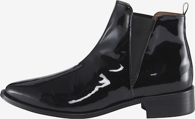 heine Stiefelette mit Elastikeinsatz in schwarz, Produktansicht