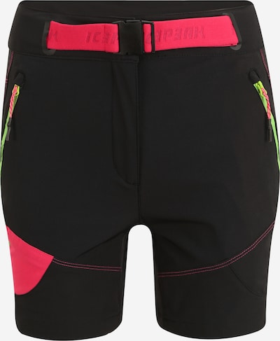 ICEPEAK Pantalon de sport en anthracite / rouge, Vue avec produit
