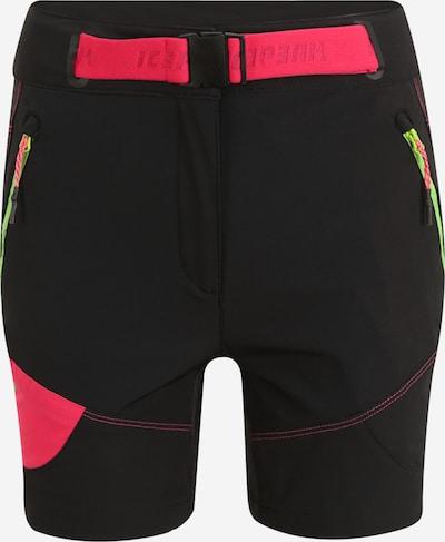 ICEPEAK Sporthose in anthrazit / rot, Produktansicht