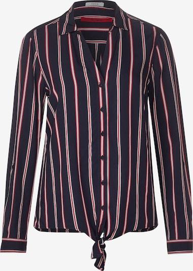 CECIL Bluse in dunkelblau / rot / weiß, Produktansicht