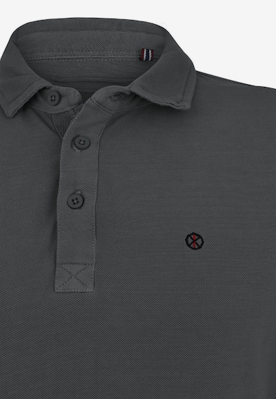 Shirts for Life Poloshirt 'Liam' in grau / anthrazit, Produktansicht