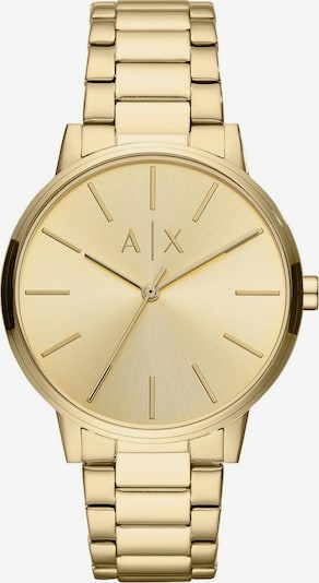 ARMANI EXCHANGE Quarzuhr in gold, Produktansicht