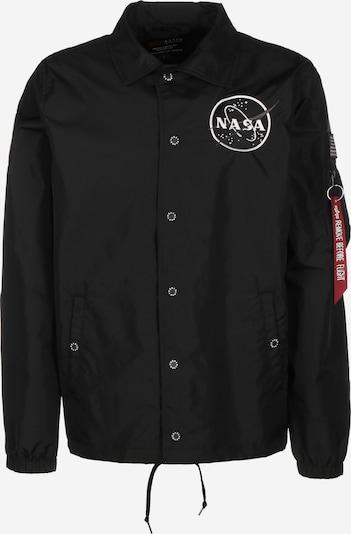 ALPHA INDUSTRIES Between-Season Jacket ' NASA ' in Black, Item view