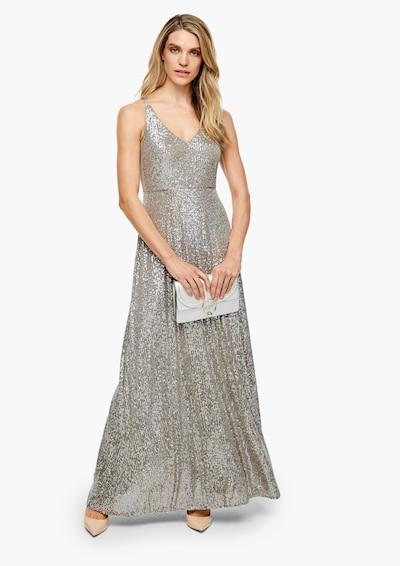 s.Oliver BLACK LABEL Kleid in silber, Modelansicht