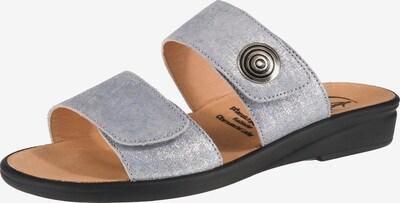 Ganter Pantoletten 'Sonnica' in hellblau, Produktansicht