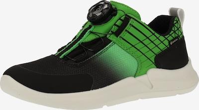 SUPERFIT Sneaker in limette / schwarz, Produktansicht