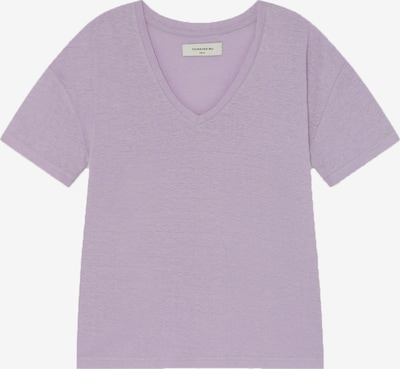 Thinking MU T-Shirt ' Hemp Chloe ' in mauve, Produktansicht