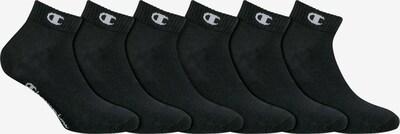 Champion Authentic Athletic Apparel Socken 'Legacy' in schwarz / weiß, Produktansicht