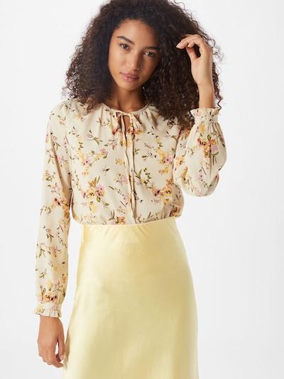 VERO MODA Bluse 'VMKISSEY' in gelb / mischfarben, Modelansicht