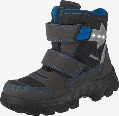RICHTER Stiefel in royalblau / graumeliert / schwarz, Produktansicht